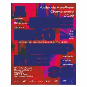 Cartel AeroPress 2019. AeroPress Poster 2019