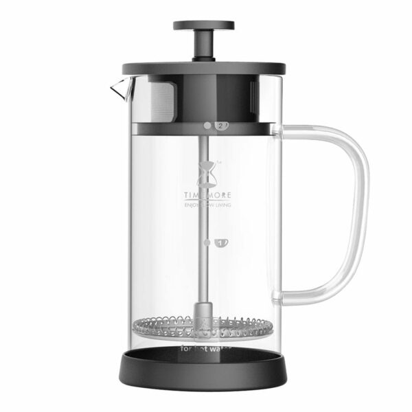 Timemore French Press. A classic when it comes to brewing coffee at home and we love it for its simplicity.