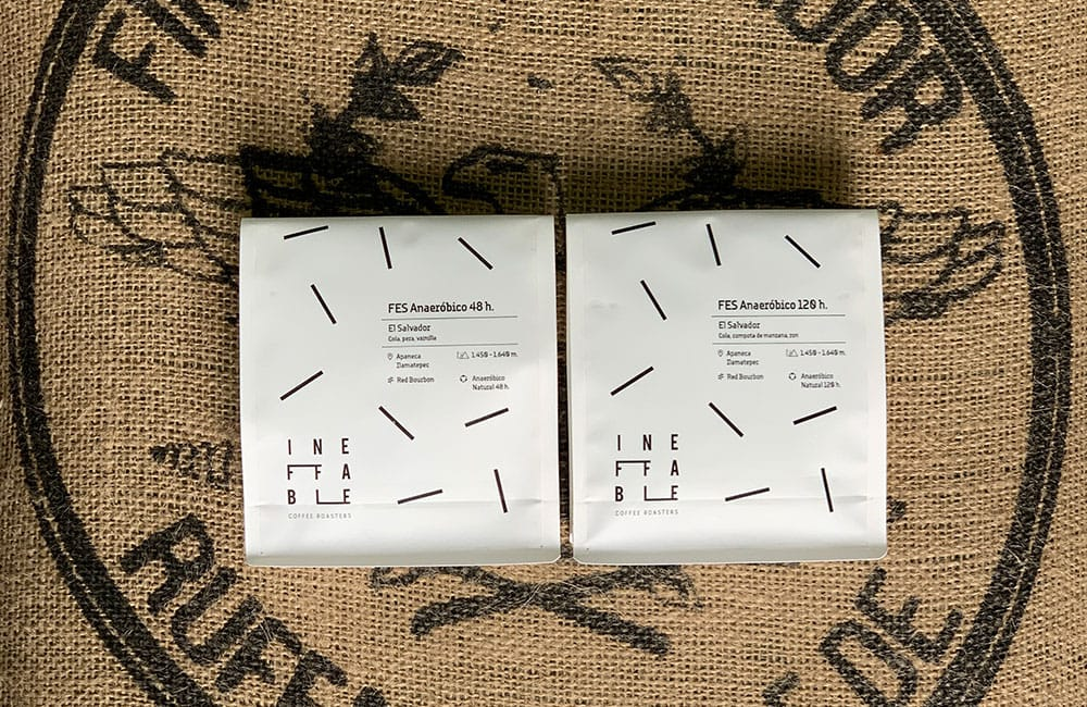 At Ineffable Coffee we have two anaerobic fermented coffees in our store.