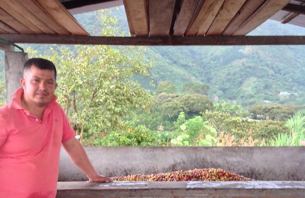 Sweet and fruity high altitude espresso from Alto del Obispo